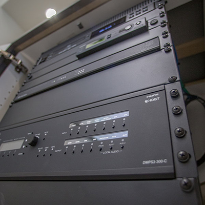 sound system, control system, automation, network services