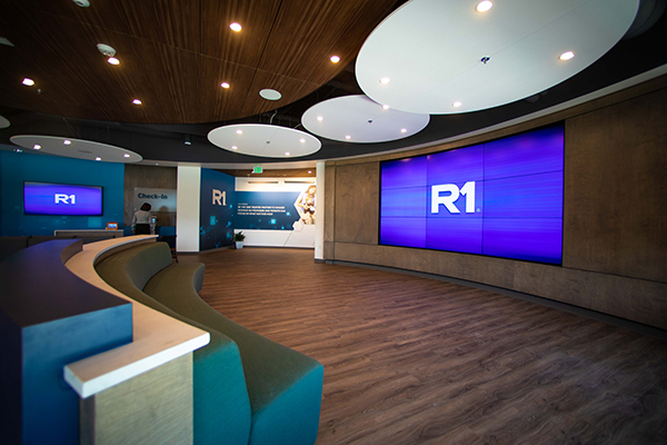 R1 Installation, video Wall